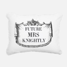 Future Mrs Knightly Mous Rectangular Canvas Pillow