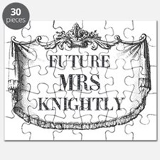 Future Mrs Knightly Mousepad Puzzle