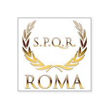 """Roma 0 Square Sticker 3"""" x 3"""""""