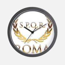 Roma 0 Wall Clock