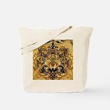 BeeFloralGold460ip Tote Bag