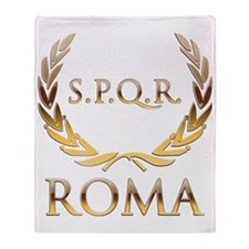 Roma 0 Throw Blanket