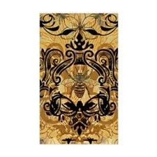 BeeFloralGold460ip Decal