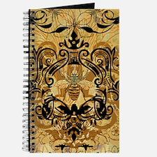 BeeFloralGold460ip Journal