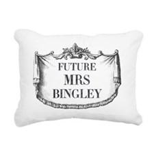 Future Mrs Bingley Mouse Rectangular Canvas Pillow