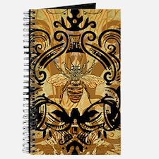 BeeFloralGoldKindleC Journal