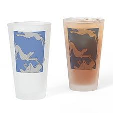 3WeimsBlueTrans Drinking Glass