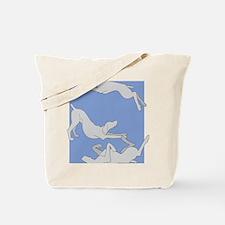 3WeimsBlueTrans Tote Bag