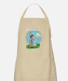 Christianity is... New Life Apron