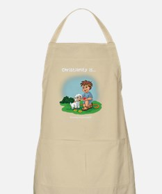 Christianity Is... Giving of Yourself Apron