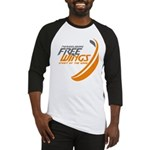 Free Wings Baseball Jersey