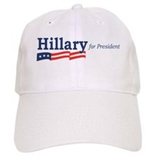 Hillary Clinton stripes Baseball Cap