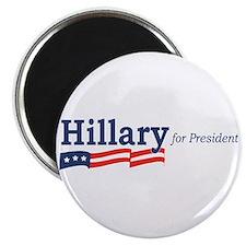 Hillary Clinton stripes Magnet