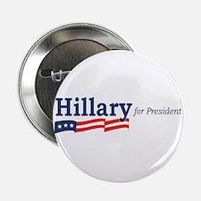 "Hillary Clinton stripes 2.25"" Button (10 pack)"