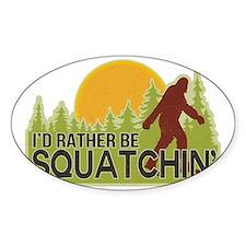 squatch-4 Bumper Stickers