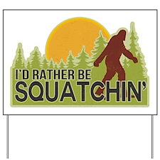 squatch-4 Yard Sign