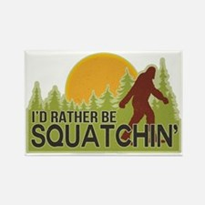 squatch-4 Rectangle Magnet