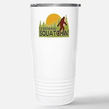 squatch-4 Stainless Steel Travel Mug