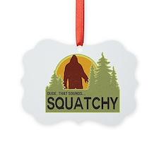 squatch-5 Ornament