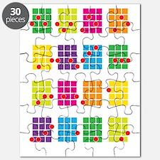 Uke Chords Colourful Puzzle