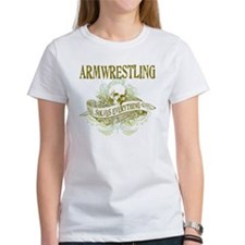Armwrestling Solves Everything Tee