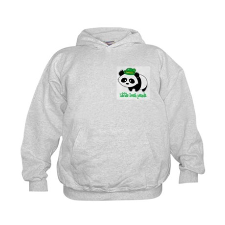 Little Irish Panda Kids Hoodie