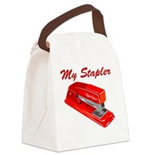 stapler Canvas Lunch Bag