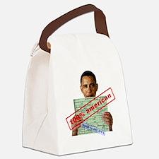 obama100-2 Canvas Lunch Bag