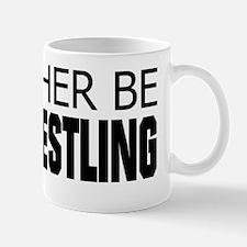 Rather Be Armwrestling Mug