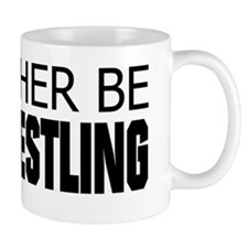 Rather Be Armwrestling Small Mugs