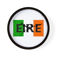 Eire Irish Flag Wall Clock
