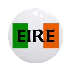 Eire Irish Flag Ornament (Round)