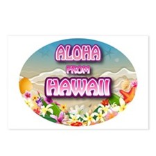 Aloha Postcards (Package of 8)