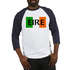 Eire Irish Flag Baseball Jersey