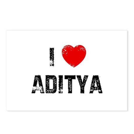 I * Aditya Postcards (Package of 8)