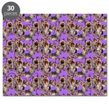 yorkshire terrier lavender pillowcase Puzzle
