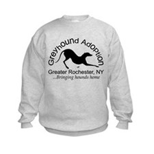 GAGR Black Logo Sweatshirt