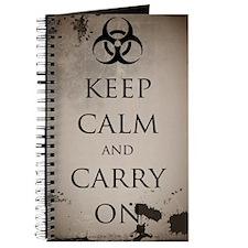 Vintage Keep Calm Journal