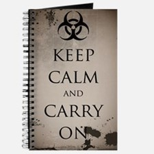 Vintage Keep Calm Journal