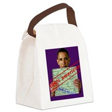 obama100-journal Canvas Lunch Bag