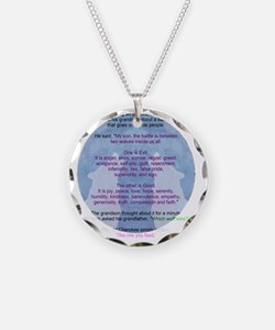 battlingwolves-trans Necklace Circle Charm