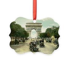 Paris 11 x 17 Ornament