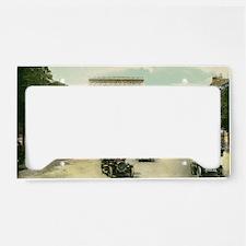 Paris 11 x 17 License Plate Holder