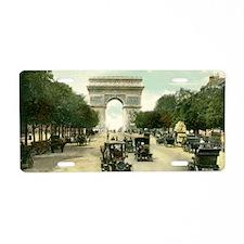 Paris 11 x 17 Aluminum License Plate