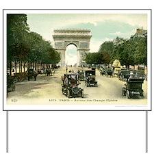Paris 11 x 17 Yard Sign