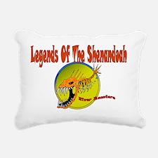 LEGENDS OF THE SHENDOAH Rectangular Canvas Pillow