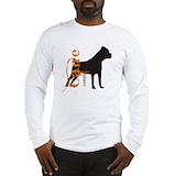 Bulldog tee shirt Long Sleeve T-shirts