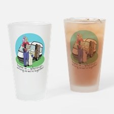Caravan copy.gif Drinking Glass