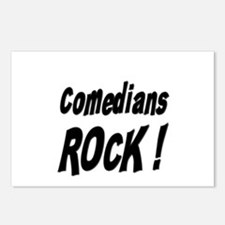 Comedians Rock ! Postcards (Package of 8)
