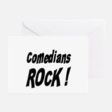 Comedians Rock ! Greeting Cards (Pk of 10)